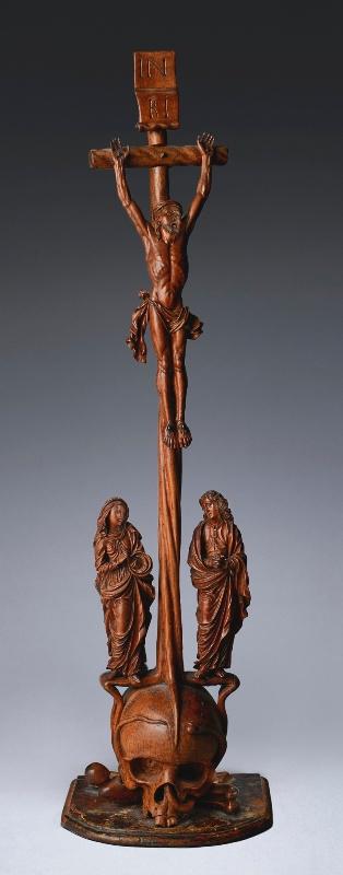 Crucifixion Allemagne du Sud début du XVIIème