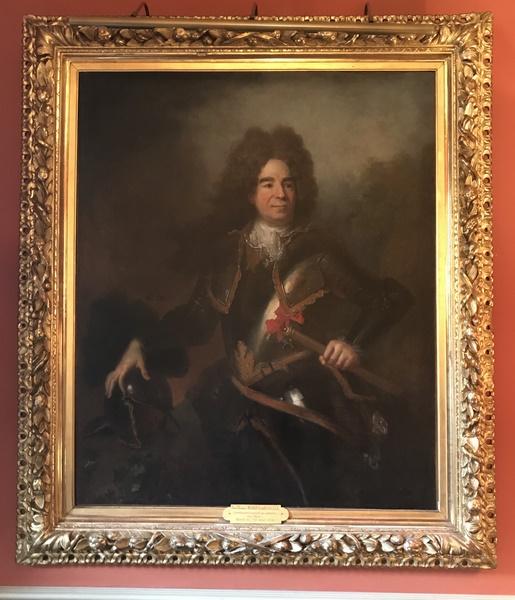 Tableau H/T portrait de Jean Thomas de Bérulle