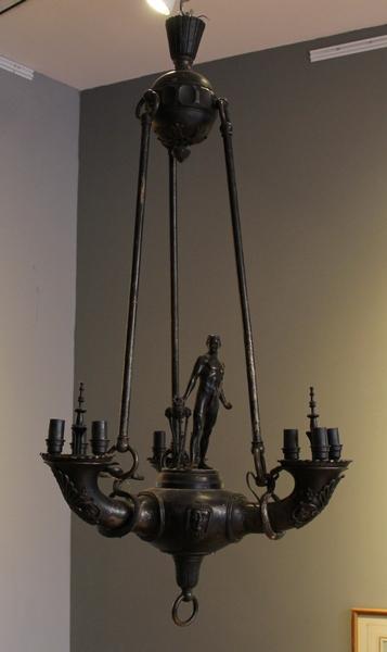 Lustre en bronze XIXème