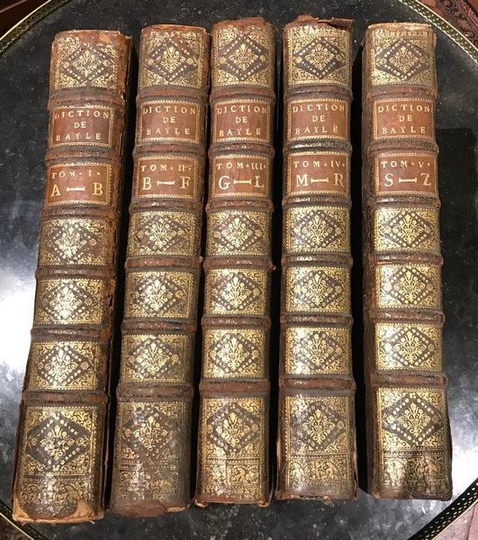 Dictionnaire par Pierre Bayle XVIIIème