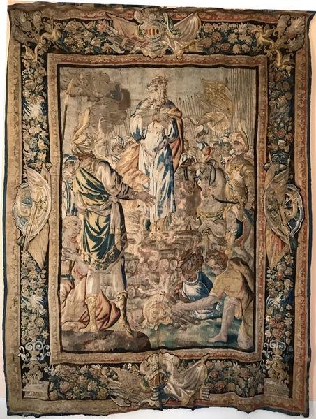 Tapisserie des Flandres XVIIème siècle