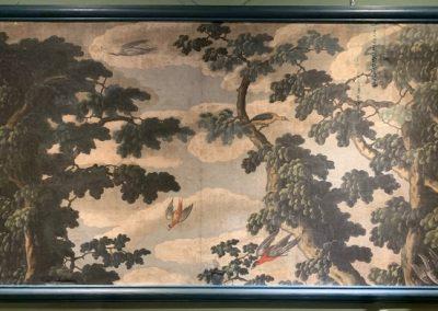 Toile peinte perroquet (1)