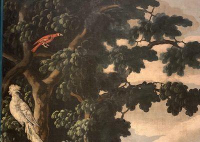 Toile peinte perroquet (2)