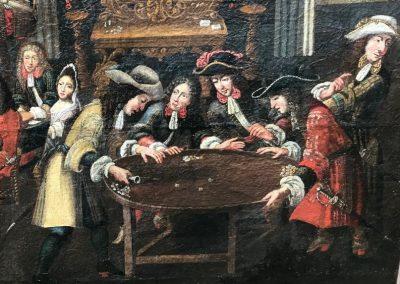Tableau joueurs de cartes (4)
