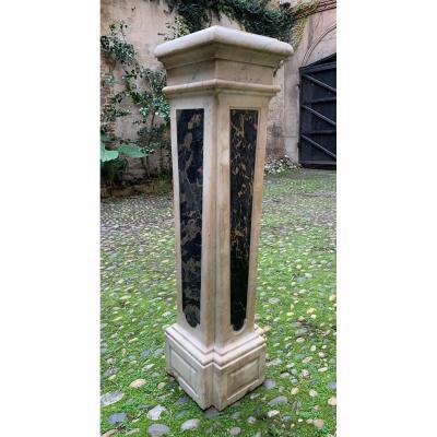 Gaine en marbre XVIIIème siècle