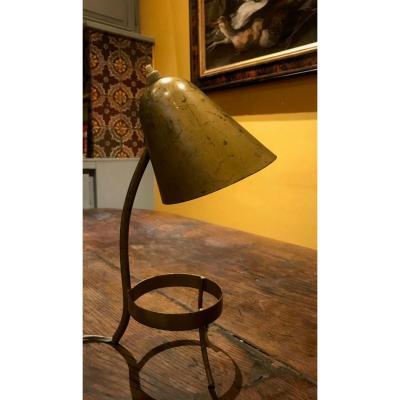 Lampe de table en laiton de Boris-lacroix