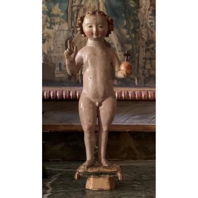 Enfant Jésus statuette de Malines