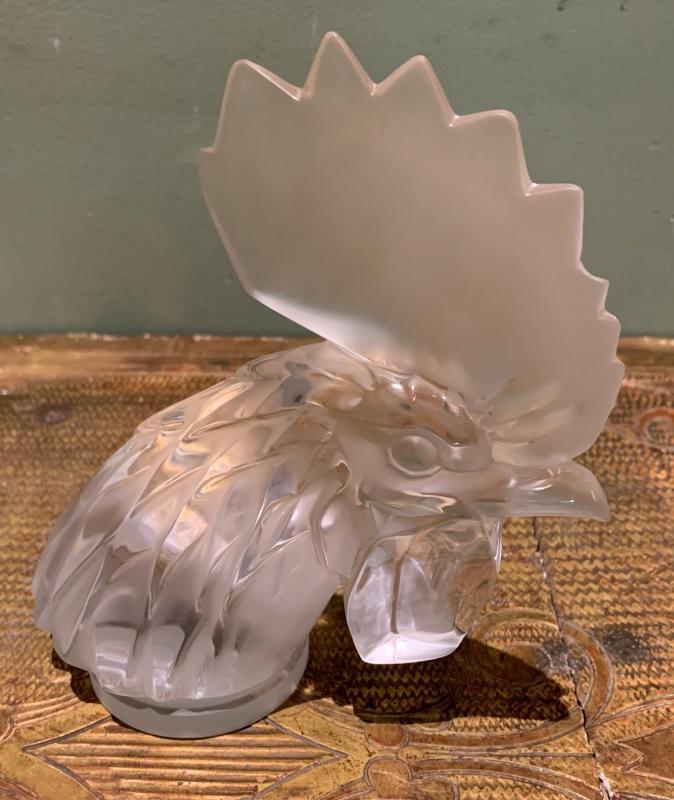 Bouchon de radiateur tête de coq Lalique
