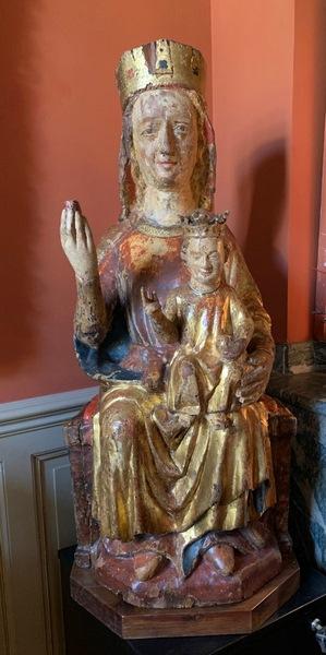 Vierge à l'Enfant Navarre début XIVème siècle
