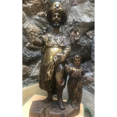 Statue de Saint Roch XVIIème