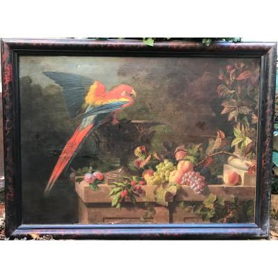 Tableau perroquet