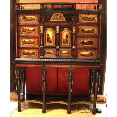 Cabinet d'apparat XVIIème siècle Anvers